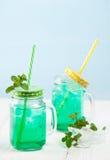 Мята питья свежая с льдом Стоковое фото RF