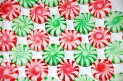 мята рождества конфеты Стоковая Фотография