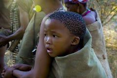 Младенец бушмена стоковое изображение rf