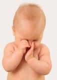 Сонный младенец стоковое фото