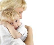 младенец ее мать Стоковые Изображения RF