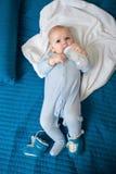 Младенец ест Стоковое фото RF