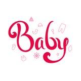 Младенец литерности Стоковая Фотография RF