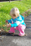 Младенец и природа Стоковые Изображения
