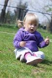 Младенец и природа Стоковая Фотография