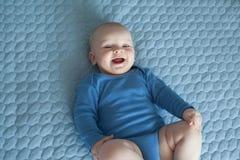 Младенец, милый младенец, усмехаясь младенец, младенец Стоковое фото RF