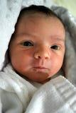 1 младенец недели старый Стоковая Фотография