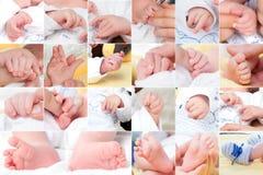 Младенец новорожденного Стоковая Фотография RF