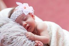 Младенец ослабляя Стоковая Фотография