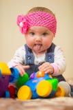 младенец один год Стоковое Изображение RF