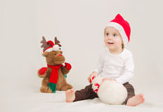 Младенец рождества Стоковые Изображения RF