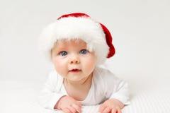 Младенец Санты стоковое изображение rf