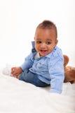 Младенец смешанной гонки Стоковая Фотография