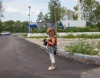Младенец с камерой фото фотографирует Стоковые Изображения