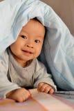 Младенец улыбки Стоковая Фотография RF