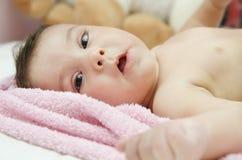 Младенец Lyng стоковые изображения rf