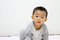 Младенец Smailing Japane Стоковое Изображение