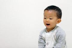 Младенец Smailing Japane Стоковые Фото