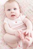 Младенческий ребёнок стоковые изображения