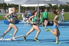 Младшие легкой атлетики ECCC собирают a Стоковые Фото
