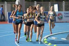 Младшие легкой атлетики ECCC собирают a Стоковое Фото