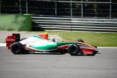 Младший Альфонс Celis пилота V8 формулы В действии Стоковая Фотография