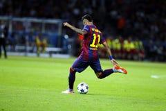 Младший FC Barcelone Neymar Стоковая Фотография