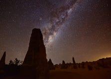 Млечный путь башенк Стоковые Изображения