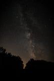 Млечный путь в Висконсине Стоковое фото RF