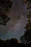 Млечный путь в Корсике Стоковое Фото