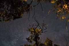 Млечный путь в Корсике Стоковые Фотографии RF