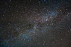 Млечный путь в Корсике Стоковое фото RF