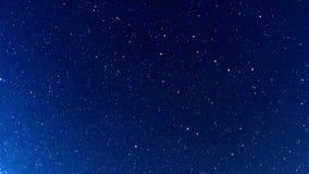 Млечный путь в ночном небе. Fisheye. Промежуток времени видеоматериал