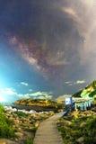 Млечный путь Гонконга Стоковые Изображения RF