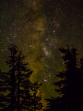 Млечный путь и звезды стоковые изображения