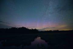Млечный путь Минесоты Стоковая Фотография RF