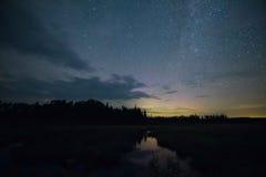 Млечный путь Минесоты Стоковые Фото