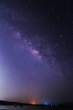 Млечный путь на небе стоковая фотография rf