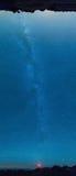 Млечный путь панорамный Стоковая Фотография RF