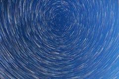 Млечный путь падая звезды Режим кометы Стоковые Фотографии RF