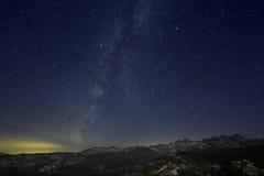 Млечный путь, ряд Ritter Стоковые Фотографии RF