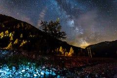 Млечный путь Стоковые Фото