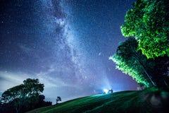 Млечный путь Стоковые Изображения RF