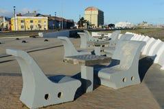 Набережная в чилийском городе арен Punta стоковая фотография