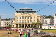 Набережная Девон Великобритания Teignmouth стоковая фотография
