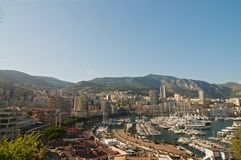 Набережная Монако Стоковое Фото