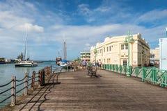 Набережная на порте Бриджтауна, Барбадос Стоковые Изображения