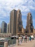 набережная променад Дубай стоковое изображение rf