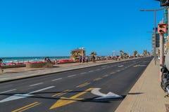 Набережная Тель-Авив Стоковое Изображение RF