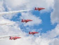 Набережная Cleethorpes, Англия - 19-ое июля 2013: Военно-воздушные силы Великобритании a Стоковые Изображения RF